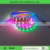 CE ROHS 3 years warranty High quality Flexible rigid led strip 12v ws2812b led strip ws2812b addressable led 5050 RGB tape