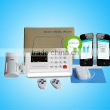 HOT,HOT !!! security fire alarm systems with 120 wireless zones and LCD display&APP(E1)