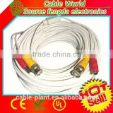 Super speed BNC video extension cable plus DC power for CCTV camera