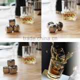 Top Supplier Reusable Stainless Steel Whiskey Stone&metal Ice Cube&stainless Steel Ice Cube