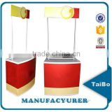 portable light weight marketing promotion table display pop up counter