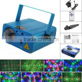 Sidiou Group Second General Mini Red and Green Laser Stage Lighting Moving Party Stage Light Projector (Blue)