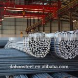 Wholesale hot rolled steel rebar/ deformed steel bar/iron rods for construction concrete for construction/building