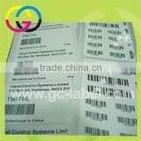 High quality vinyl material barcode rolling custom self-adhesive stickers and labels