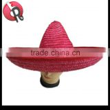 sombrero wide brim big red mexican hat