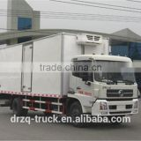Hot selling!!! Dongfeng Closed Frontal refrigerator truck box dimension 6400,6100,5800*2280*2300