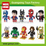 New micro block marvel super heroes action figure toys and games kids