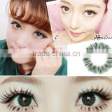 Realcon factory price direct beautiful eyes lens soft cosmetic UV glow color contact lenses