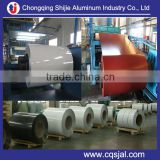 Chinese high quality 5052 alloy color coated 0.5~1.2mm thick aluminum coil for van truck body