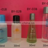 OEM hotel amenities bottle sets/ New Design customized hotel amenities shampoo and conditioner