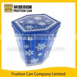 Large Metal Tin Can Gift Packing Box for Popcorn