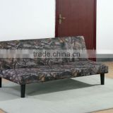 Promotion forest camouflage fabric sofa bed