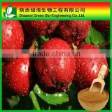 Hot selling fresh hawthorn leaf/berry extract with GMP supply