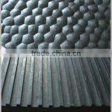 10mm to 30mm thickness cloth inserting cow horse trailer rubber mats