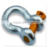 high quality electric galvanized various colored pin G209 shackle
