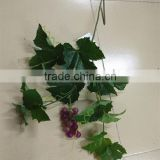 CHY070915 Landscaping decorative artificial green grape leaf artificial tree leaves