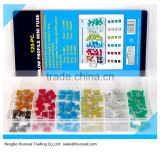 New 120pc MINI Blade Fuse Assortment Auto Car Motorcycle SUV FUSES Kit APM ATM Automotive Fuse Types
