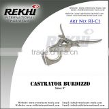 "Castrator 9'',castration forceps 9"",castrator burdizzo,bloodless castrators,small animals castrators"