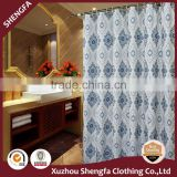 High quality and thicker 100% poly shower curtain