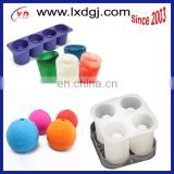 FDA,LFGB proved Silicone Ice Rounds Maker,golf ball shaped silicone ice cube tray