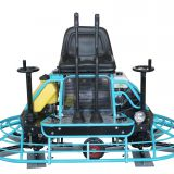 Road Construction Driving Type Gasoline Power Trowel Machine for Sale