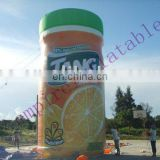 Giant bottle inflatable balloon for advertising P002