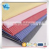Wholesale FOB Shanghai Double 100% Yarn Dyed Jersey Fabric