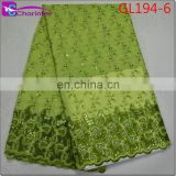 Charinter sale well african organza lace fabrics GL194