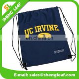 Custom cool eco drawstring cotton bag wholesale