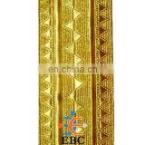 SLEEVE RANK TUNIC GOLD BRAID | METALLIC GOLD UNIFORM BRAID
