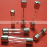 6.3A 250V 5X20mm Fast-Acting Glass Tube Fuse with UL mark