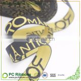 Personalized jacquard custom elastic waistband custom printed elastic bands