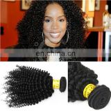 New arrival top quality mongolian kinky curly hair 6A grade alibaba express hot selling kinky hair weave