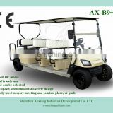 Electric 8 person golf cart for sale with powerful DC motor
