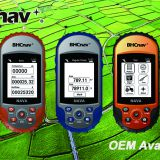 Area Farmland Handheld GPS BHCnav NAVA 110 for Land Survey