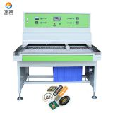 soft pvc rubber label/patch making machine
