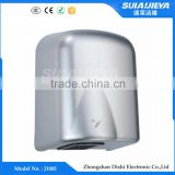 new design wall mounted mini automatic sensor toilet hand dryer machine