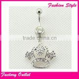 Fashion body piercing jewelry free belly button pierce