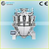 PenKan10 heads feeding-control weigher for counting pepper, fruit, jelly, tamato, potato,etc