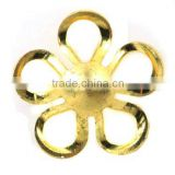 Jewelry findings Flower Shape Brass Bead Caps Charms/Pendants