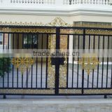 slide steel gate, swing metal gate, gate for house, different steel gate designs