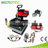 Chinese NO.1 8 in 1 Heat Press Machine for mug heat press plate heat press garment heat press