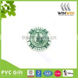 PVC soft rubber bag trademark silicone bag label
