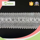 Eyelash lace trim lace fabric with rhinestone chemical lace                                                                                                         Supplier's Choice