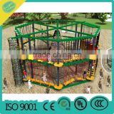 Indoor Children Climbing Adventure Ropes Development bound training Rope course jungle gym