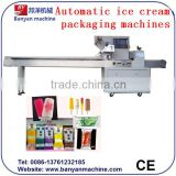 Hot Sale Automatic Flow Packing and wrapping Machine for Popsicle 0086-18321225863