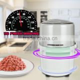 High Quality Powerful Stainless Steel Blade Electric Food Chopper                                                                         Quality Choice