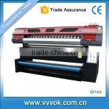 Fast speed sublimation high precision 1.9M 19P2-R flag printer