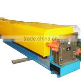 Automatic downspout roll forming machine