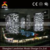 3d handmade architectural model for commercial interior layout with beautiful furnitures
